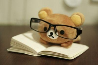 #ours #lunettes #livre