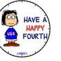 Image result for snoopy fourth of july
