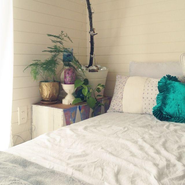 SAKIさんの、ベッド周り,寝室だけは女子力を笑,RC千葉支部,のお部屋写真