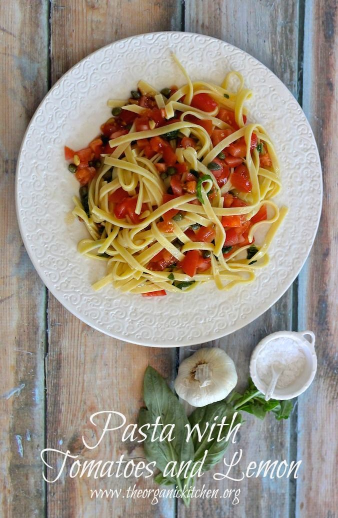 74 best pastas from the organic kitchen images on pinterest real pasta with tomatoes and lemon the organic kitchen blog and tutorials forumfinder Images