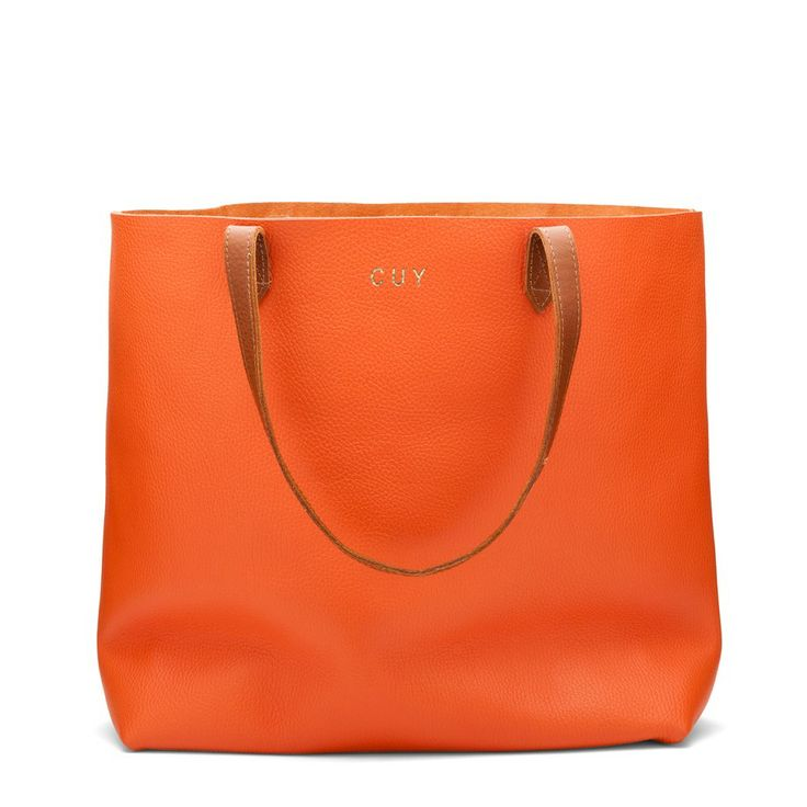 #Cuyana monogrammed leather tote {other color options available}, love!! #Monograms