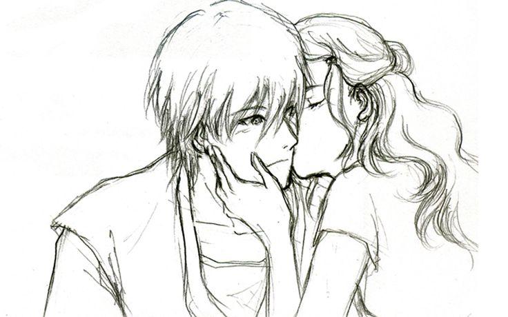cute love drawings for him