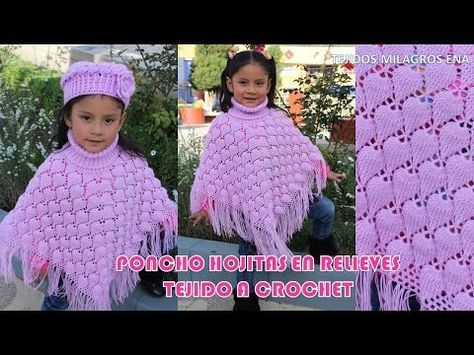 Poncho a crochet muy fácil #DIY #tutorial - YouTube
