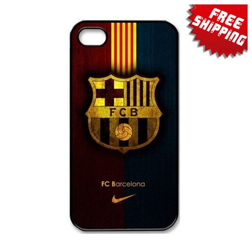 Free Shipping FC Barcelona Football Sports Hard Case For
