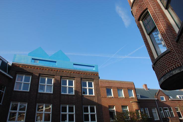 Rotterdam. Didden Village designed by MVRDV
