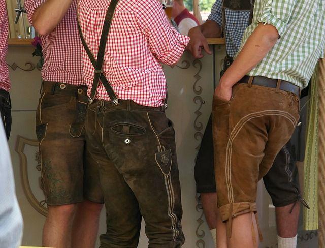 Lederhosen, Tradition, #Bayern #Bavaria #sexy :)