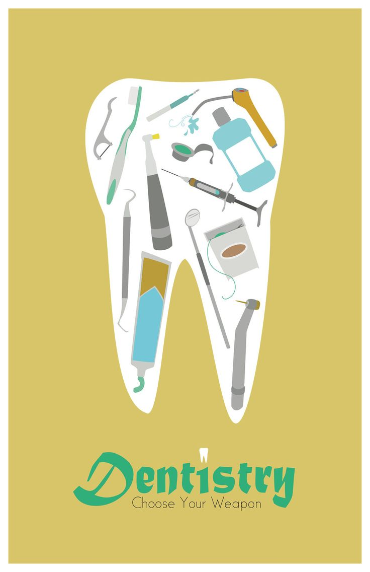 Dentistry 11x17 minimalism poster print - Graduation, Teacher Gifts - Home & Dorm Decor. $16.00, via Etsy.