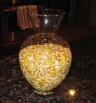 fun game at the pack meeting for the boys to guess how many kernels are in a jar!!