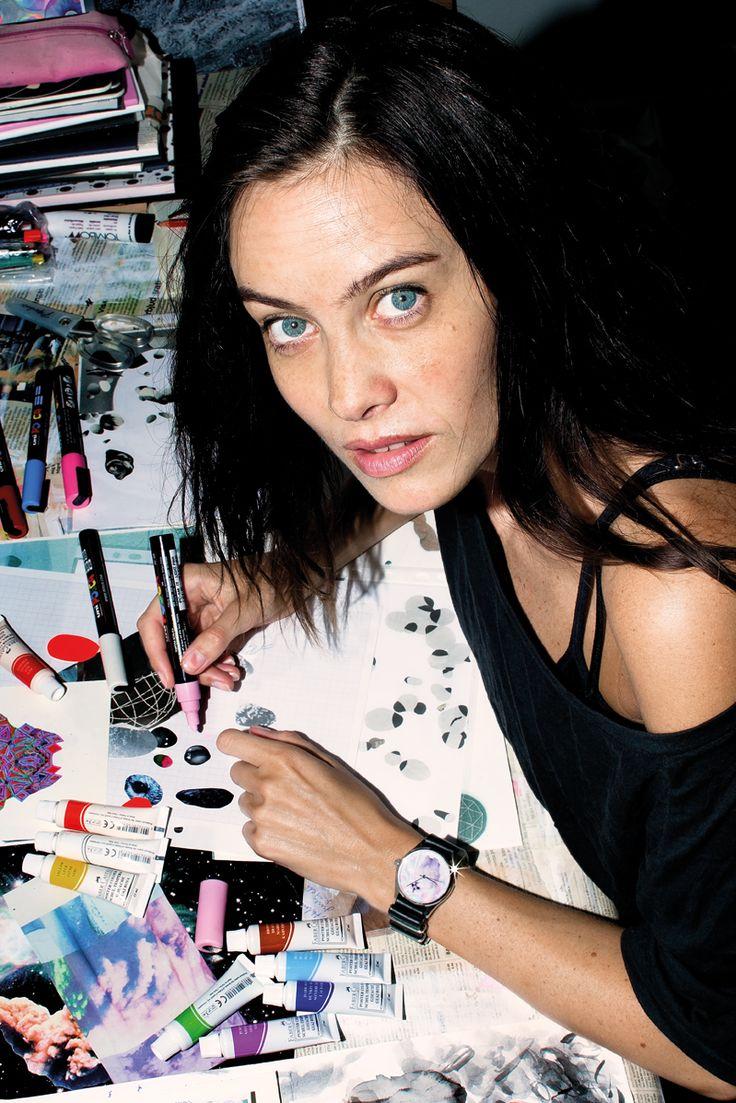 Anna Lewenhaupt Mindful artist, actress and biker