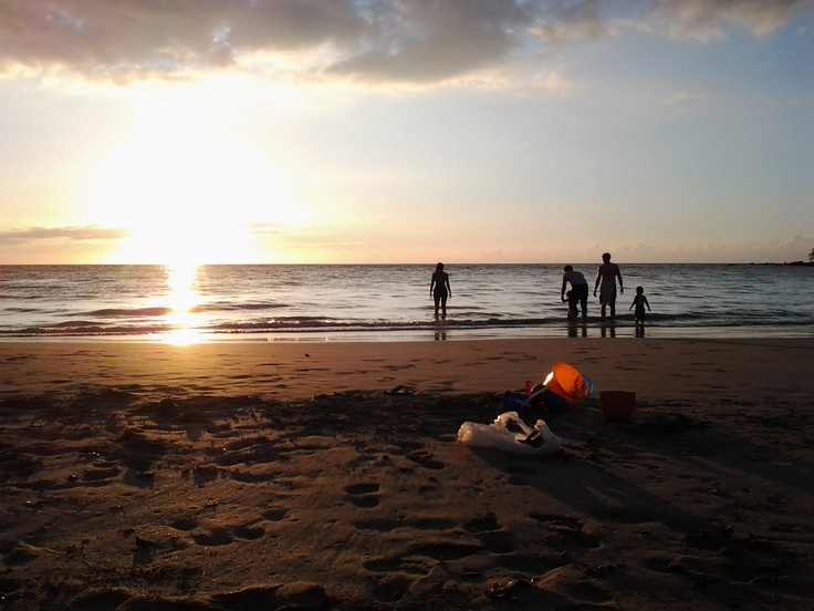 Best sand ever. Mauna Kea.