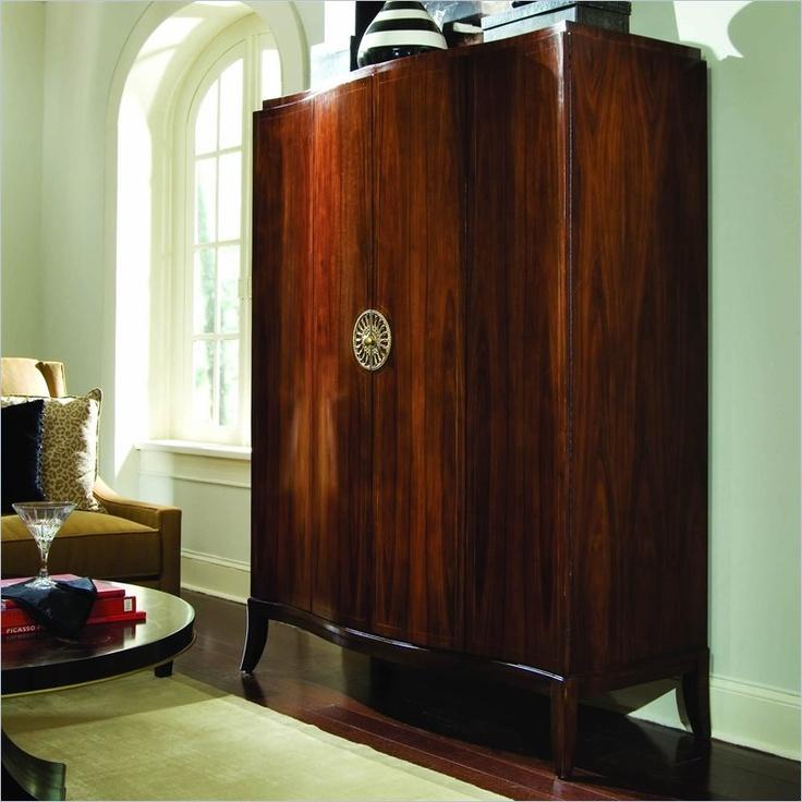 Flat Screen TV Armoire | Living Room Inspiration | Pinterest