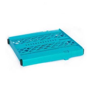 Turquoise Adjustable Locker Shelf : Expandable Shelves for School
