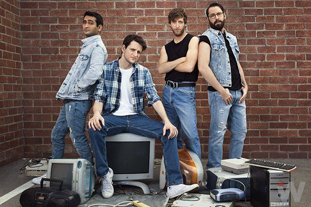Kumail Nanjiani, Zach Woods, Thomas Middleditch and Martin Starr