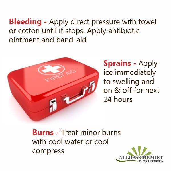 Emergency situations can bring in tough times & you need to act wisely during such period. Some basic first aid will aid you during these situations.