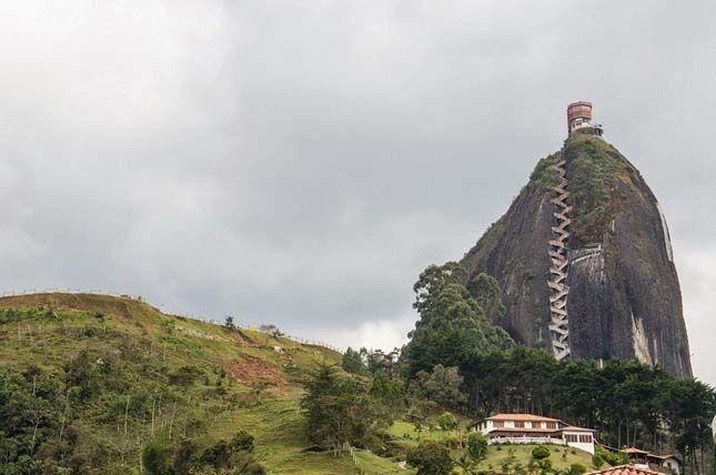 Guatapé sziklája