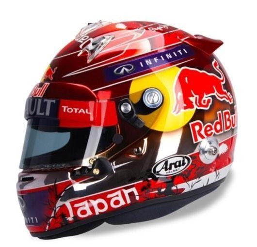 Vettel Japan 2014 Helmet