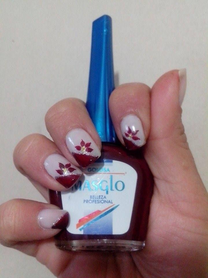 Diseño de Karito Villafañe vía #Facebook #inspiration #nails #masglo