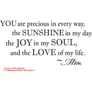 For each of my four beautiful, amazing children!