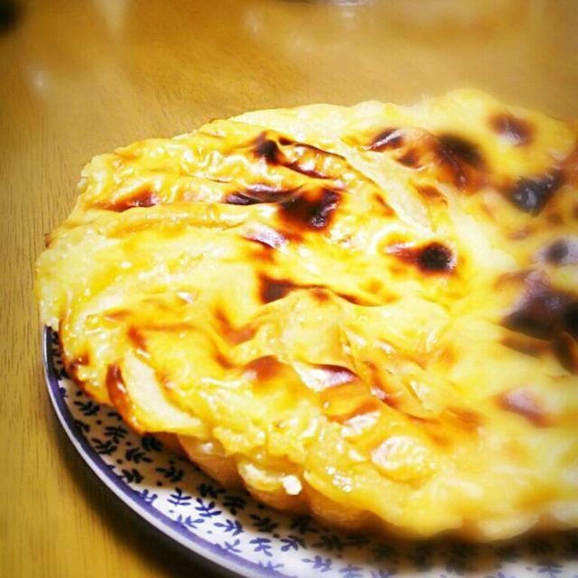 いつものアップルカスタードパイ。  今回はカスタードミックス使わないで ちゃんと作りました - 31件のもぐもぐ - アップルカスタードパイ by aymunzous