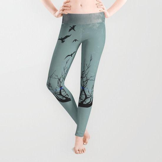 Winter Chimera  #Leggings by Helle Gade - $39.00 #Soceity6 #fashion