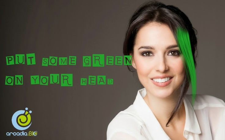 Put some green on your head