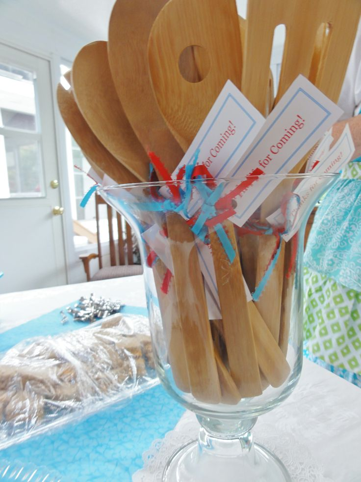 Retro Housewife Bridal Shower - THE FAVORS. SUPER CHEAP AND CUTE :)