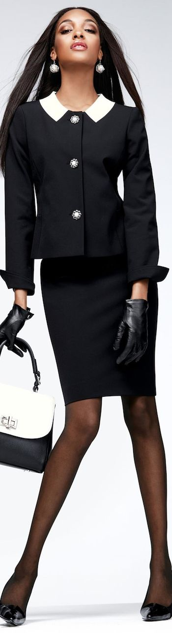 Power Suit feminine style :)
