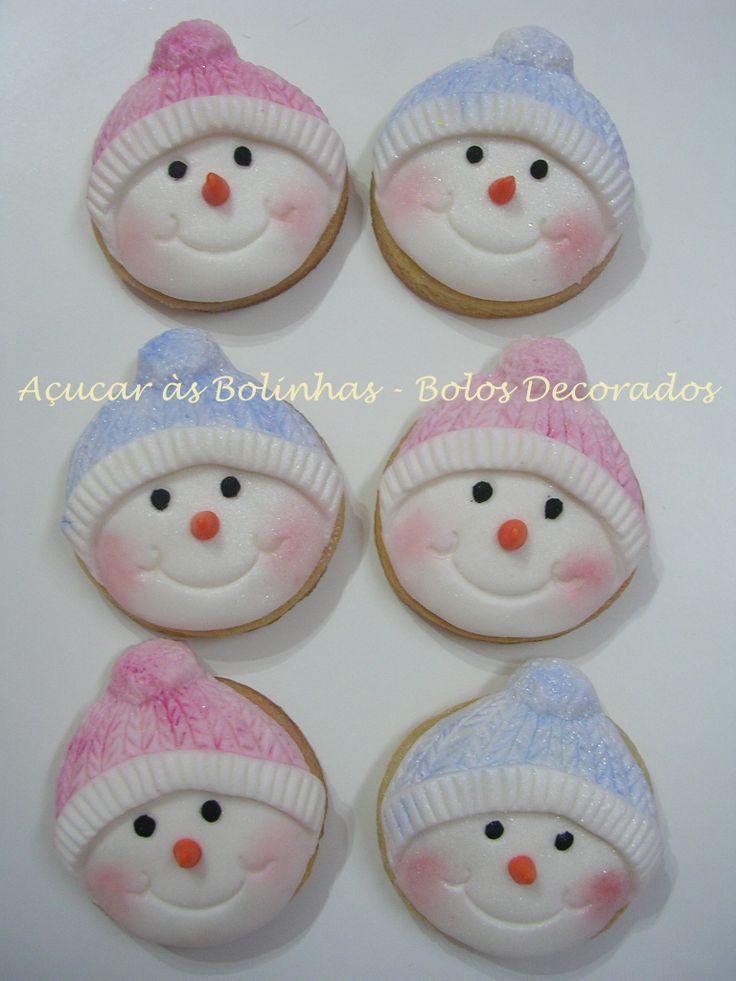 Bonequinho de neve http://acucarasbolinhas.blogs.sapo.pt/