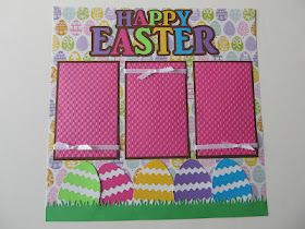 Easter Scrapbook Layout!
