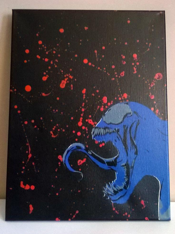 Venom stencilart