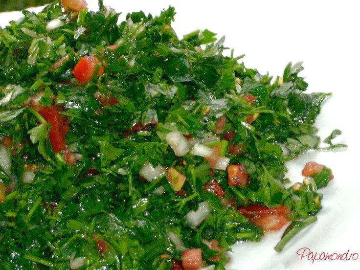 Salata de patrunjel, energie si gust ferm | Papamond