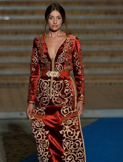 El diseñador libanés de caftanes marroquíes Romeo Haute Couture clausuró la cita de Photoquivir con la fotografía de moda el pasado sábado 6 de junio