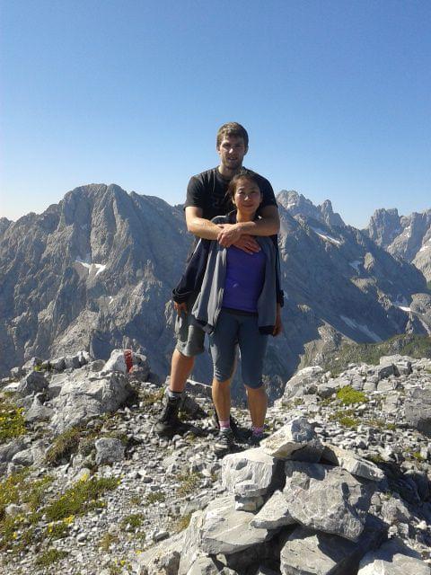 On top of Plenge Mountain