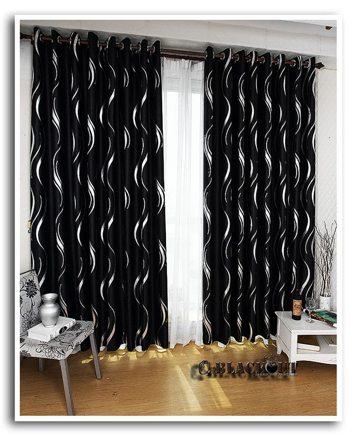 Top 28 Black And Silver Curtains Silver Grey Black Faux Silk Pencil Pleat Lined Cheap
