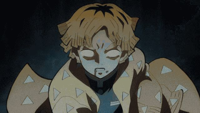 Demon Slayer Zenitsu Gif (With images) Anime, Demon, Slayer