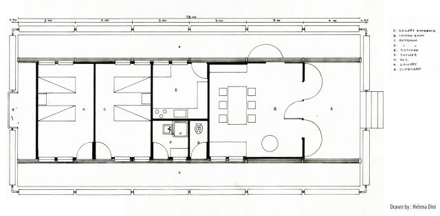 Arch 100 110 2011 les maisons tropicales tropical house plan a jean prouve pinterest - Maison de jean prouve ...
