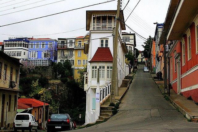 Valparaiso calle - Jose Barrera - http://bit.ly/6NNKMS — en Valparaiso.