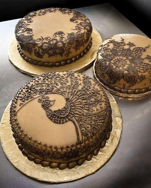 love these hena cakes