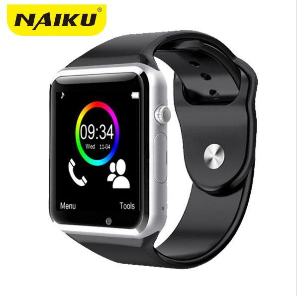 NAIKU WristWatch Bluetooth Smart Watch Sport Pedometer With SIM Camera Smartwatch For Android Smartphone PK GT08 U8 M26 //Price: $15.34//     #gadgets