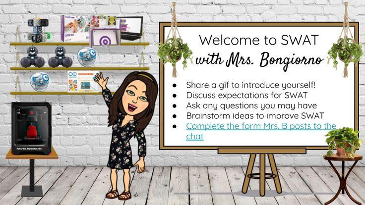 Create Your Own Bitmoji Virtual Classroom or Library! in