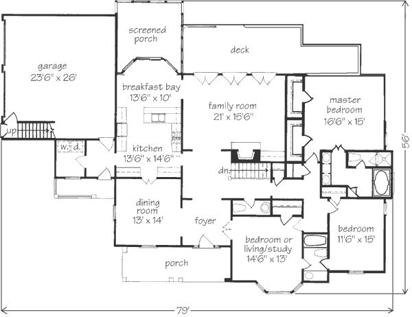 39 best House plans images on Pinterest | Ranch home plans, American ...