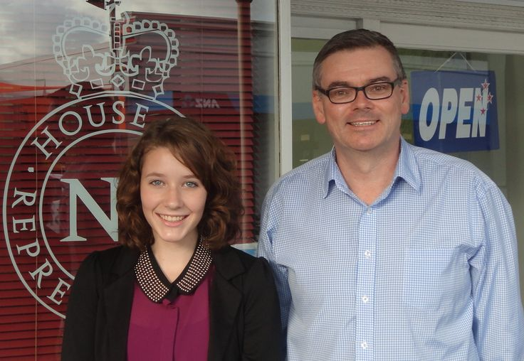 Amy Williams Youth MP for Scott Simpson