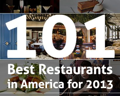 101 Best Restaurants in America for 2013