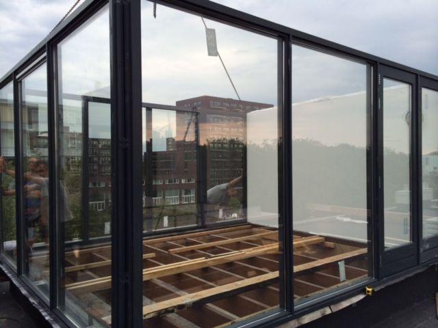 Extra groot dakhuis van 16m2 door Dakterras.nl