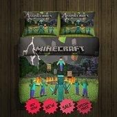 Minecraft best hero  fleece blanket, best gift for husband, best gift for wife, best gift for girlfriend, best gift for grandma, best gift for grandchildren, best gift for sister, best gift for brother, best gift for son, best gift for daughter, best gift for boy, best gift for gift, best gift for mom, best gift for dad