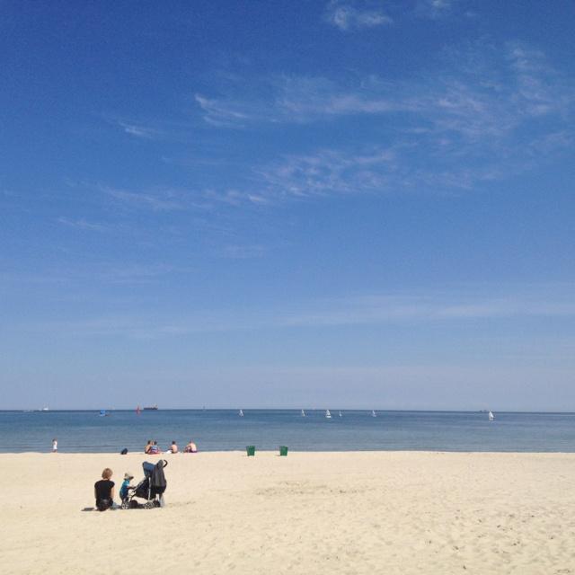Gdynia, Poland overlooking the Baltic Sea