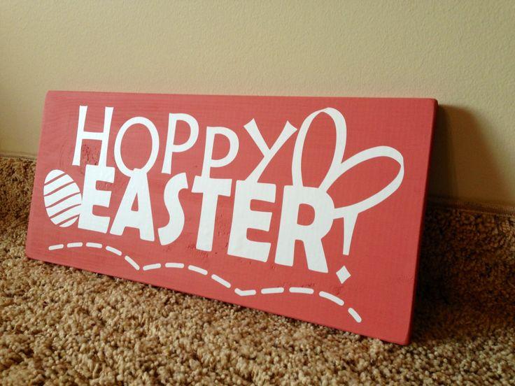 Hoppy Easter Sign