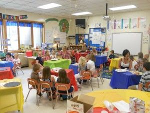 2nd Grade Reading Cafe