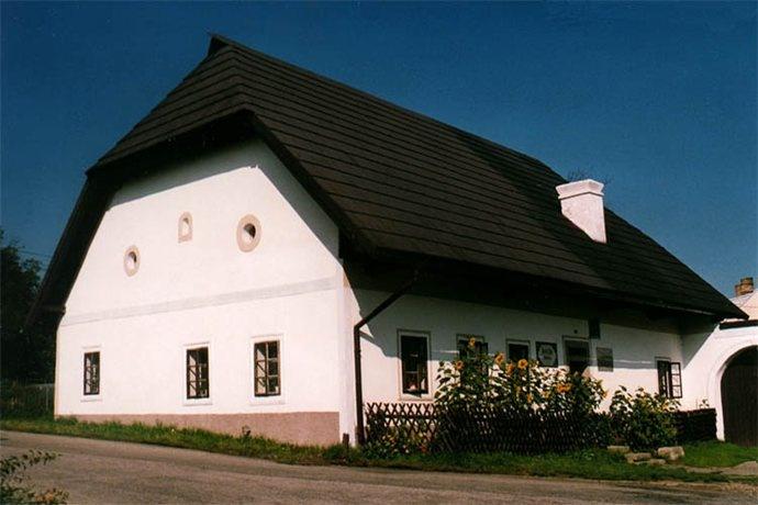 Traditional architecture from Šumava, South Bohemia.