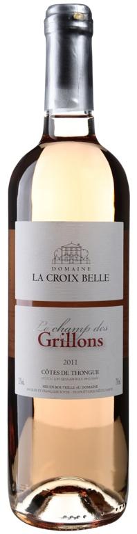 """MyGoodWines - Côtes-de-Thongue """"Champ des Grillons"""" Domaine de la Croix Belle - Vin du Languedoc"""